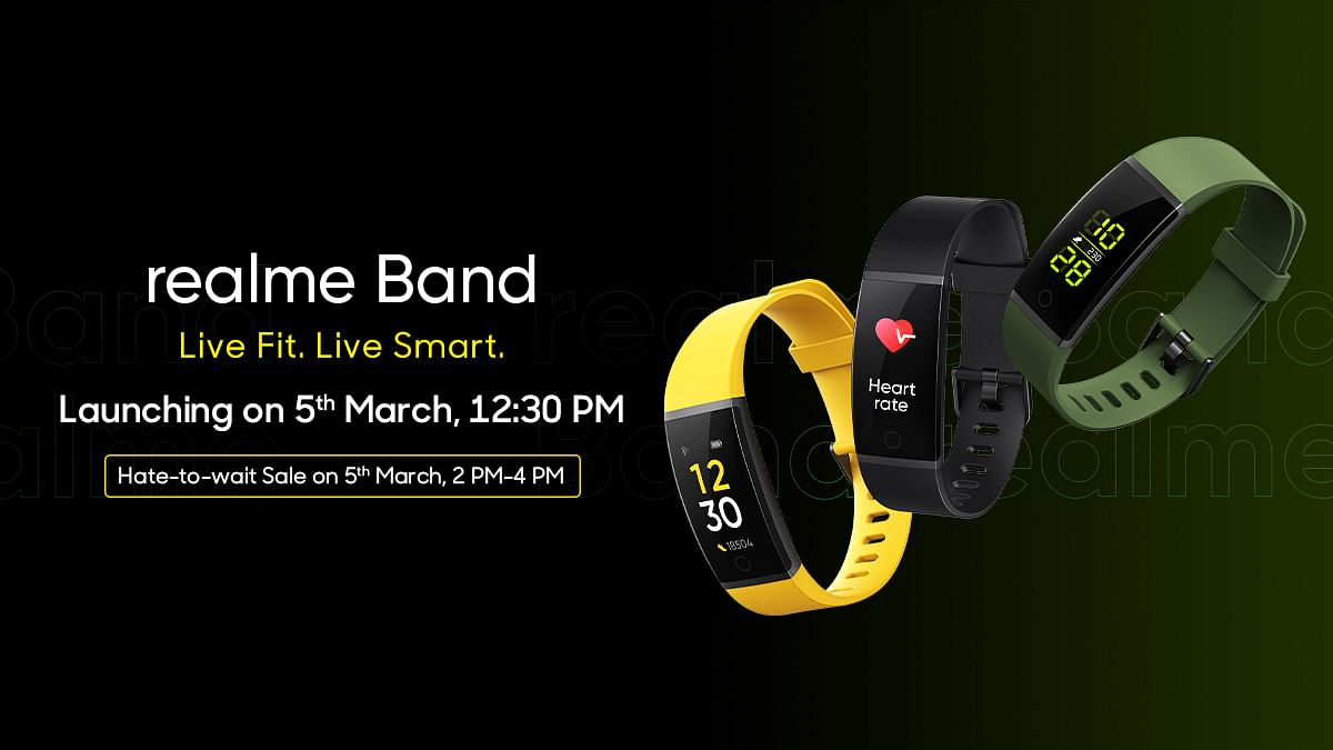 Realme Band to launch on March 5 with special 'Hate2Wait' sale, confirms CEO Madhav Sheth