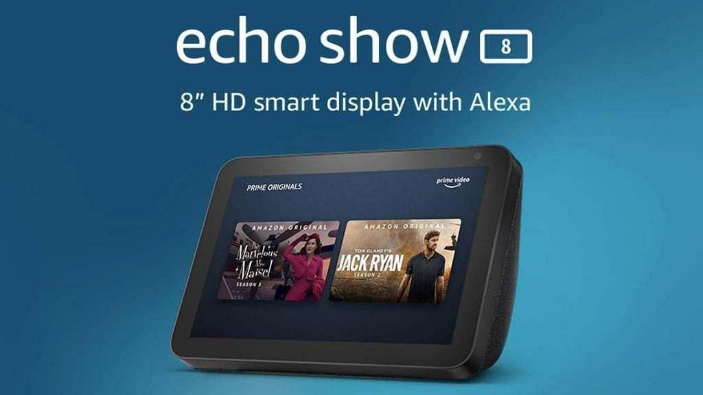 Amazon brings Echo Show 8 to India