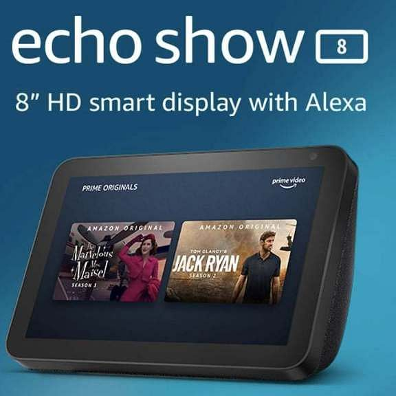 Amazon brings Echo Show 8 to India