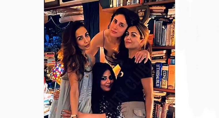 BFF Goals: Kareena Kapoor Khan, Amrita and Malaika Arora strike a jolly pose for camera