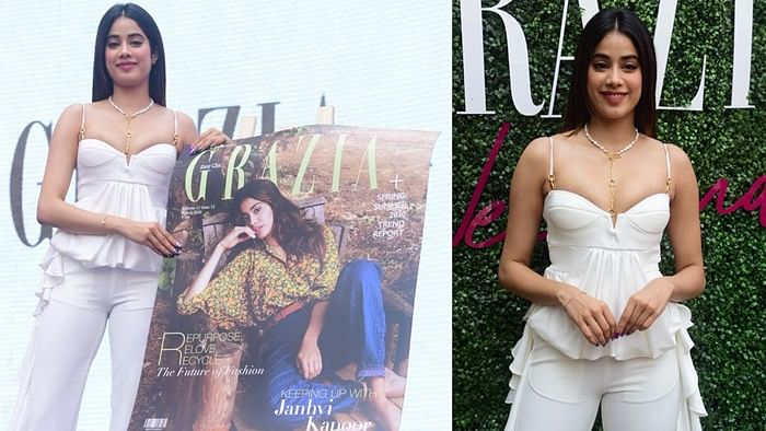 FPJ Fashion Police: Janhvi Kapoor looks chic in all-white voguish ensemble