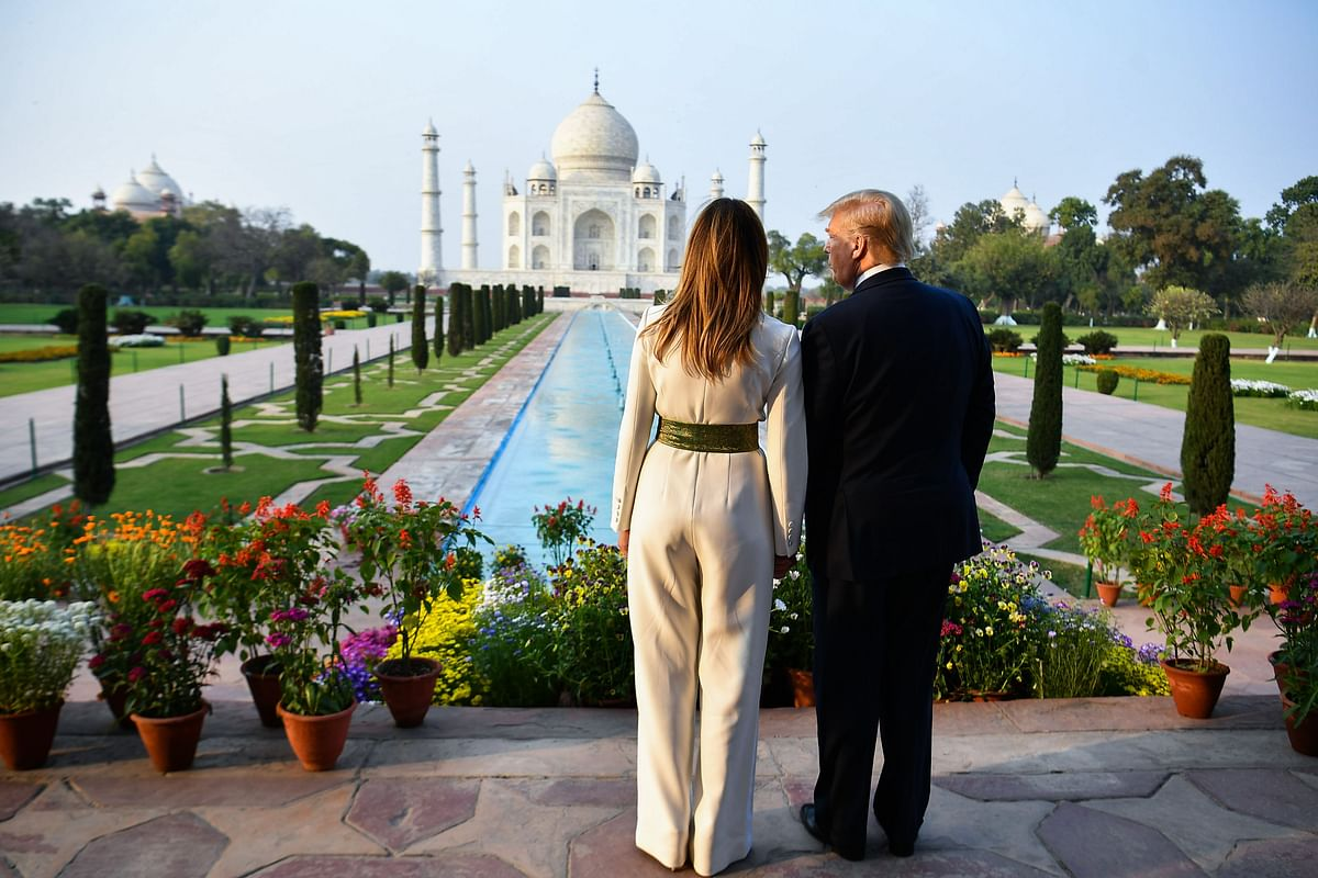 'Taj Mahal is a testament to the beauty of Indian culture': US President Donald Trump
