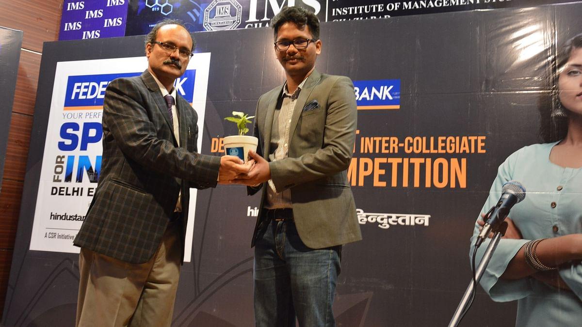 HT Debate organised at IMS Ghaziabad Lal Quan Campus