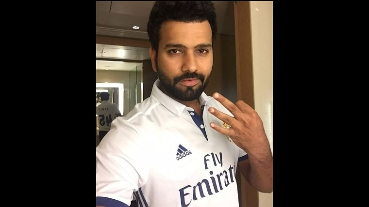 Rohit Sharma is a hardcore Real Madrid fan - here's proof