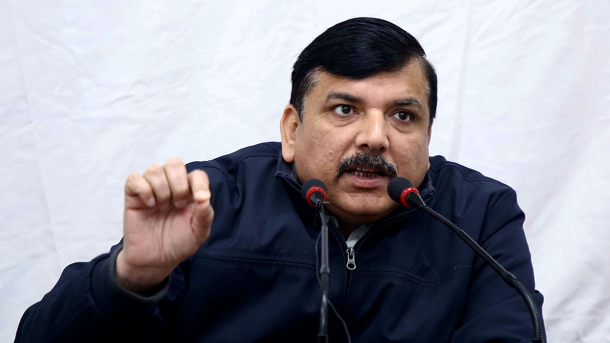 'Indecent behaviour with girls...': AAP's Sanjay Singh gives zero hour notice in Rajya Sabha over 'mass molestation' at Gargi College