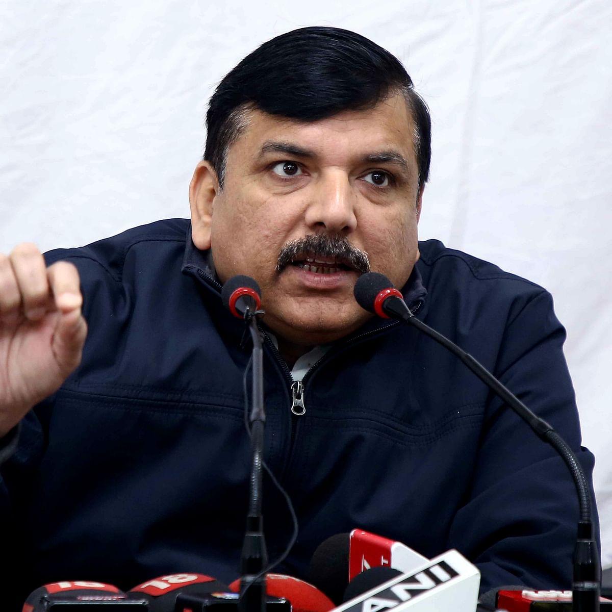 'Indecent behaviour with girls...': AAP's Sanjay Singh gives zero hour notice in Rajya Sabha over 'mass molestation' at Gargi College