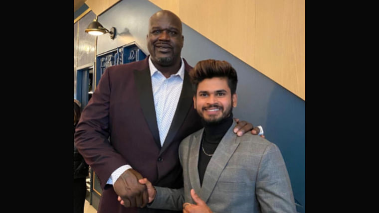 Cricket meets Basketball: Shreyas Iyer enjoys NBA All-Star weekend with legendary Shaquille O'Neal