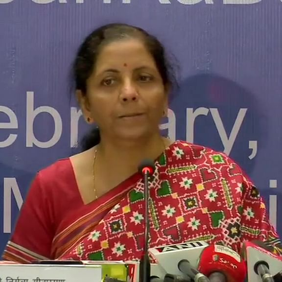 Centre is clear about infra investment: FM Nirmala Sitharaman