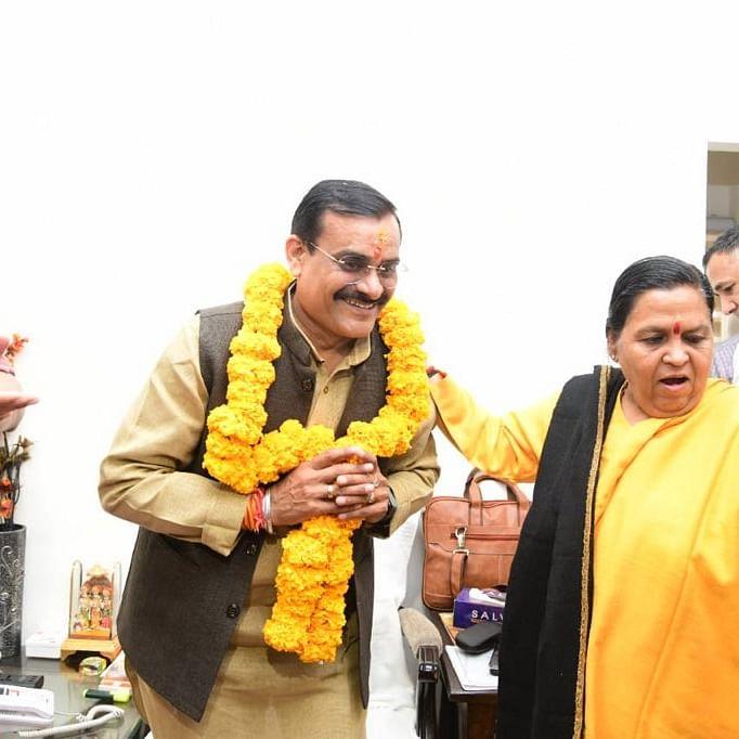 Bhopal: Persuaded VD Sharma to marry, says Ex-Cm Uma Bharti