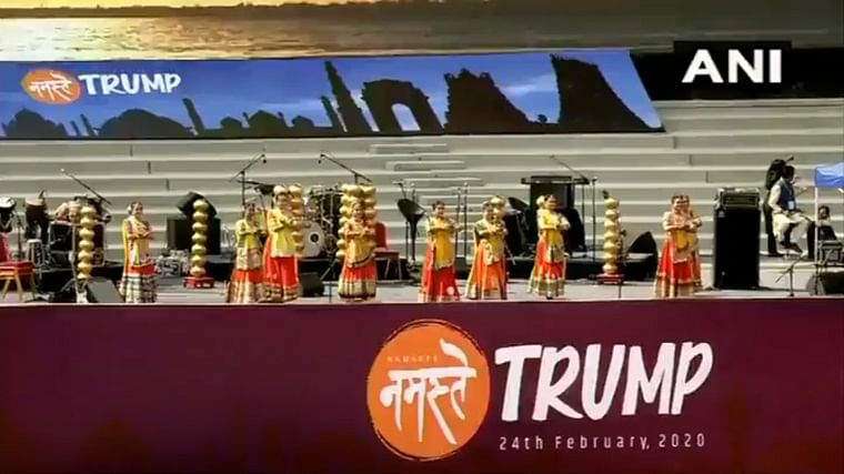 With dances and garba on roads, Donald Trump to get desi style welcome in Ahmedabad