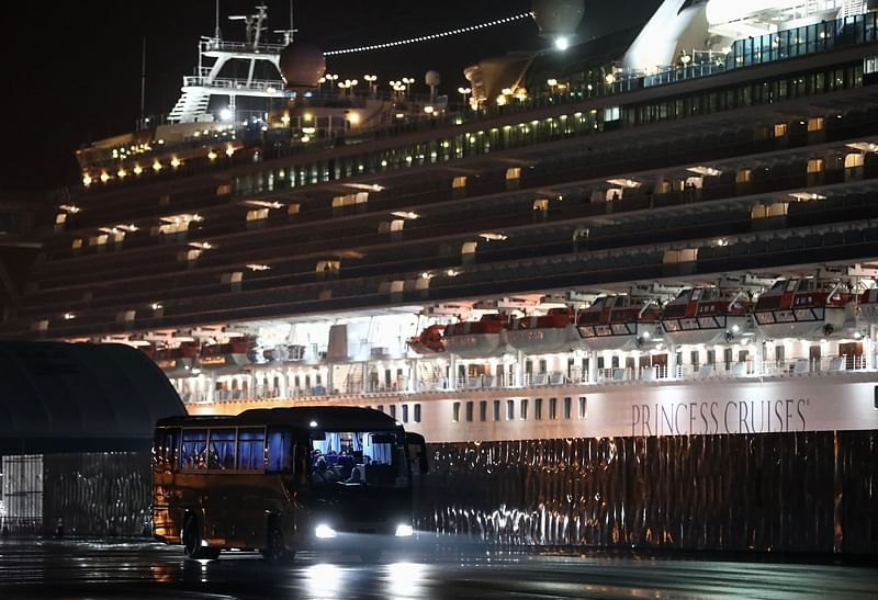 Coronavirus update: Two more Indians on board a quarantined cruise ship off Japan have tested positive