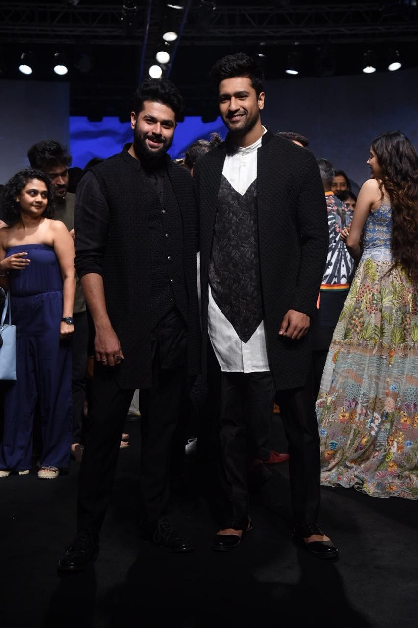 Vicky Kaushal with Kunal Rawal