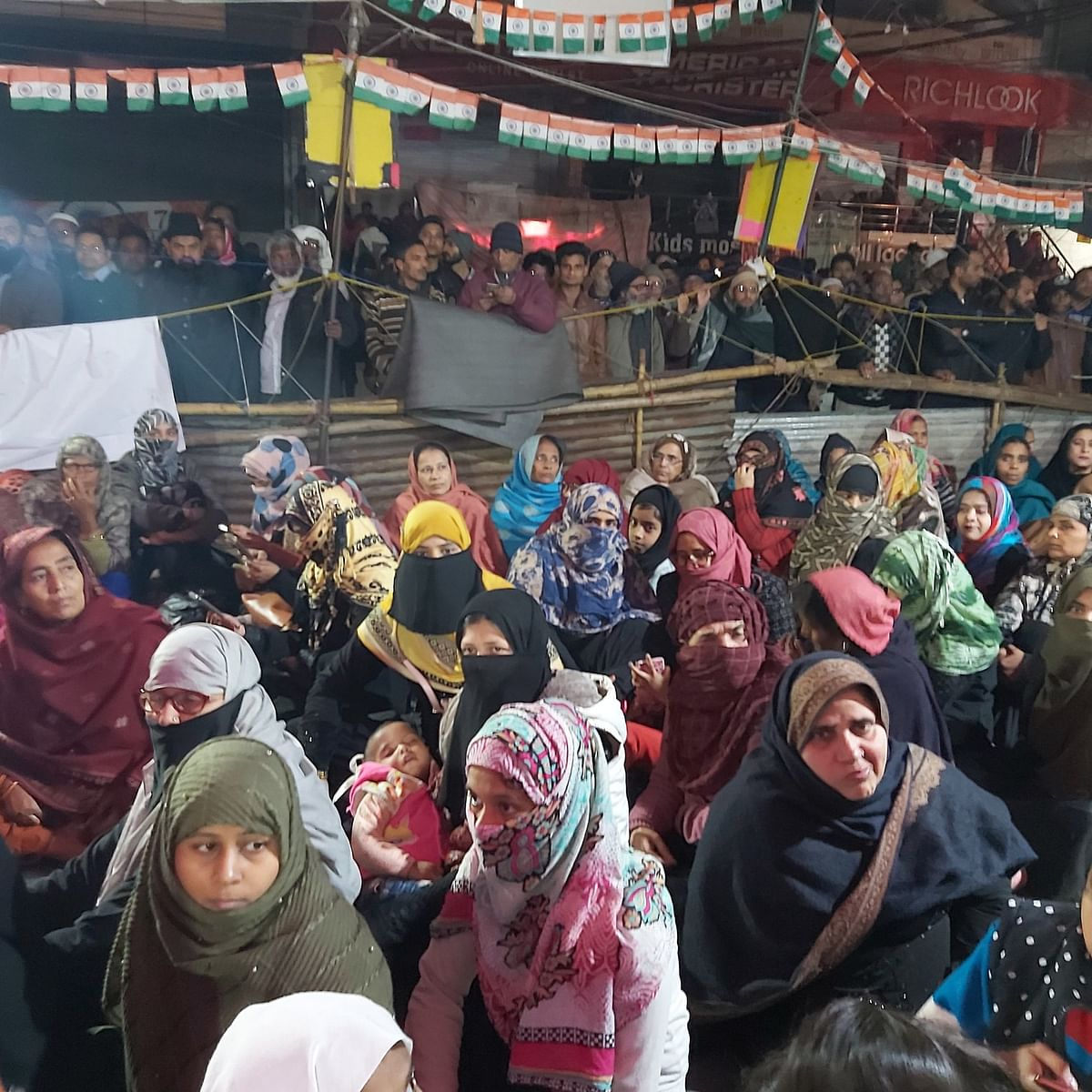 Shaheen Bagh: Between rock and hard place