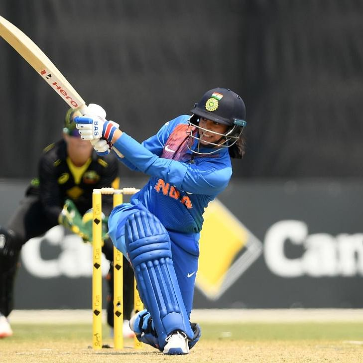 ICC Women's T20 World Cup AUS vs IND: Smriti Mandhana departs for the Women in Blue