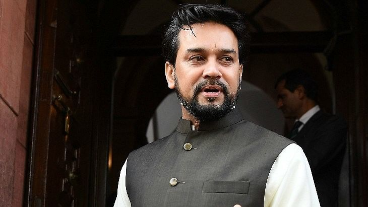 Steps taken by govt during pandemic yielding results; economy on 'V-shaped' recovery: Anurag Singh Thakur