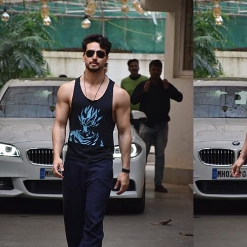 Tiger Shroff's vest has a Disha Patani connection
