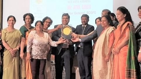 NHPC bags 'Recognition of WIPS Activities Award'