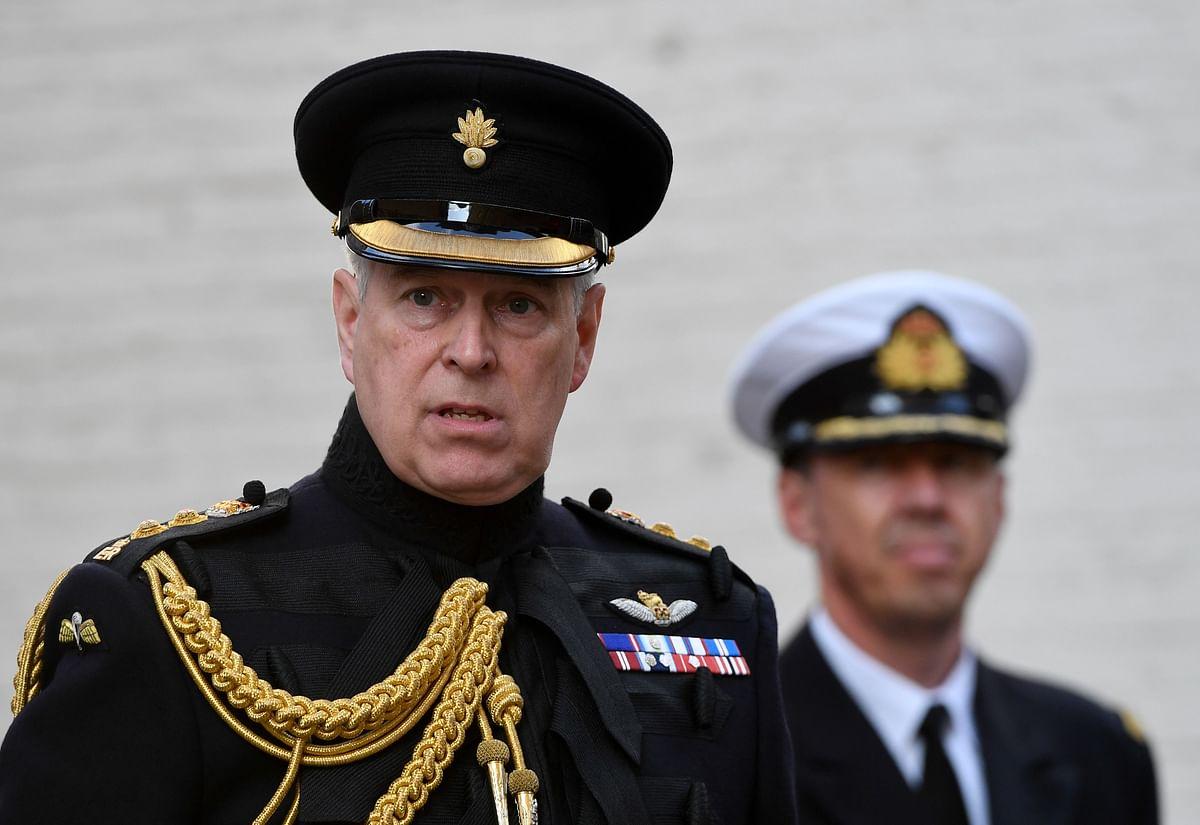 Prince Andrew postpones navy promotion