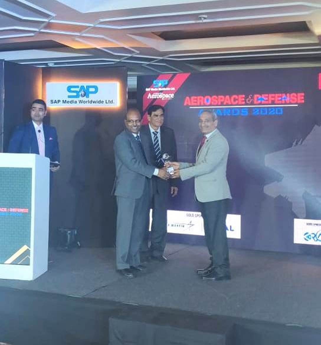 BEL bags awards for Exports and CSR at Aerospace & Defence Awards