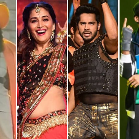 Filmfare Awards 2020: Madhuri Dixit, Akshay Kumar, Varun Dhawan burn the dance floor; watch videos