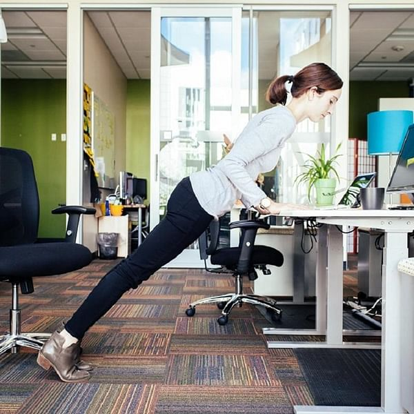 'Meaningfulness between meetings':  Yoga guru Shraddha Iyer shares exercises to do right at your desk