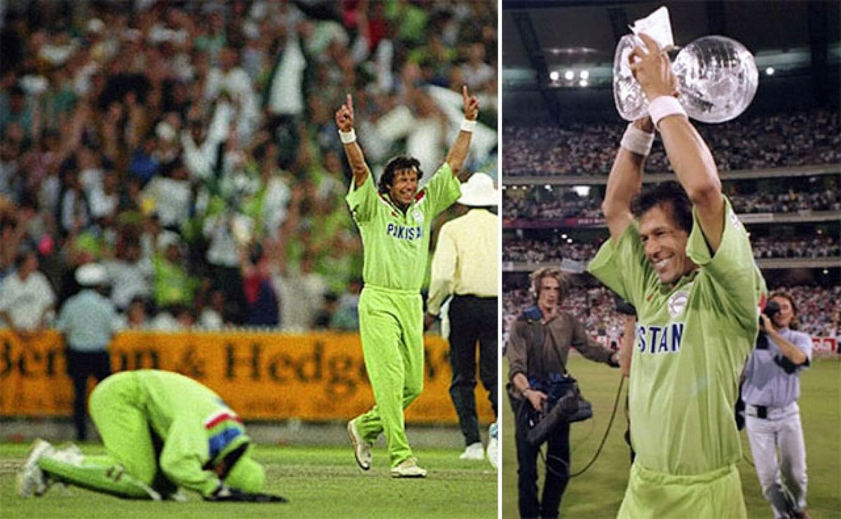 Pak fan bashes claims of Imran Khan helping Pak win 1992 World Cup