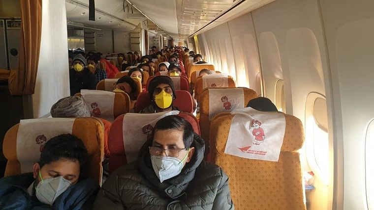 Coronavirus outbreak: Air India flight carrying second batch of 323 Indians lands at Delhi airport