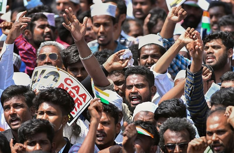 Anti-CAA protest: Thousands take to streets in Tamil Nadu