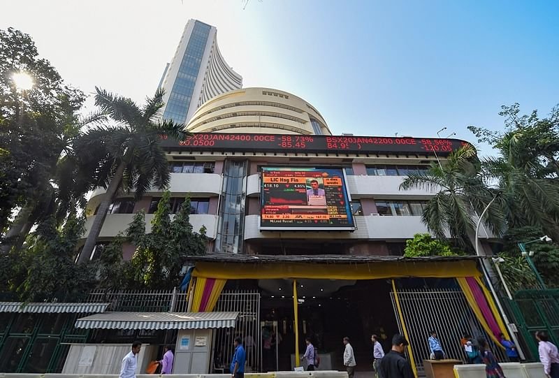 Sensex up 700 points led by banking stocks