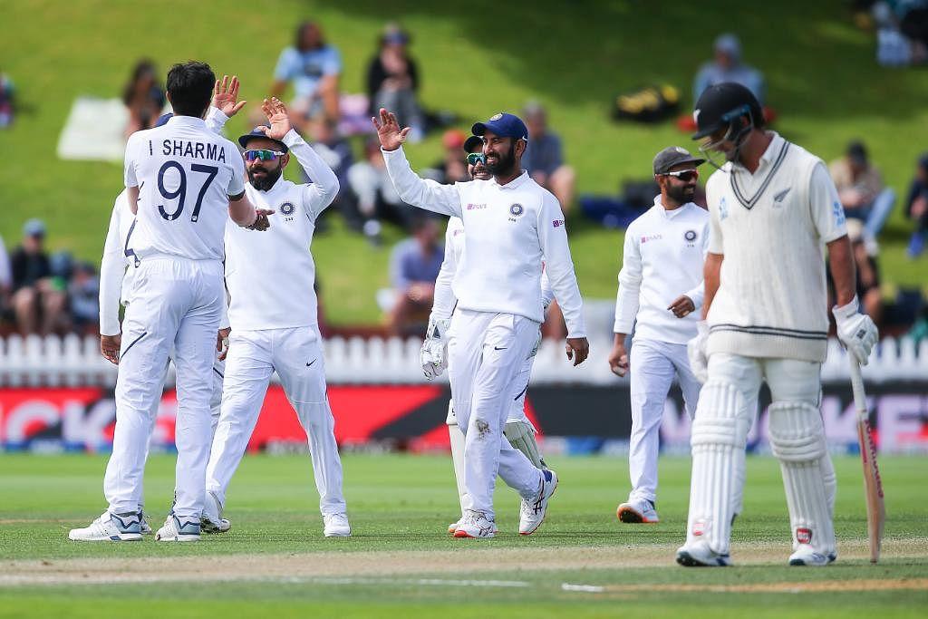 India VS NZ test