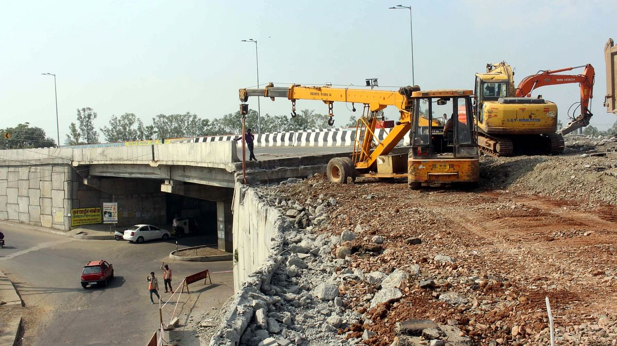 Bhopal: Experts blame petty contractors after Lalghati Flyover Bridge grade separator collapse
