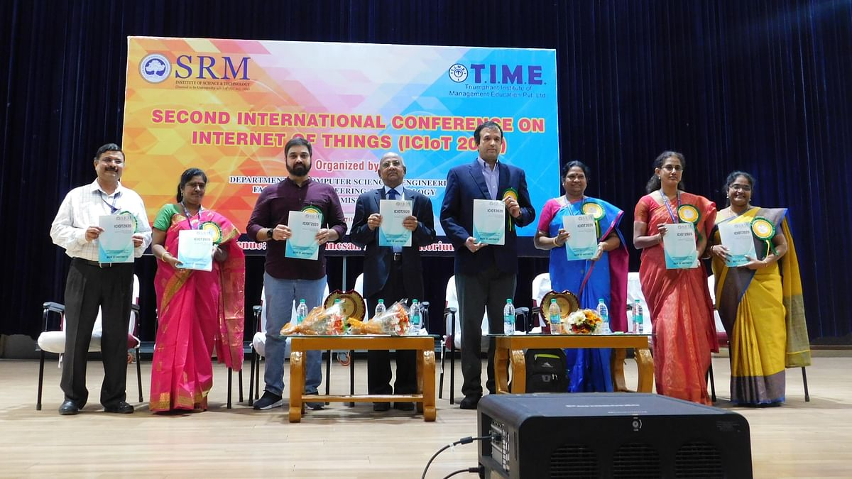 Five-day IoT conference at SRM draws International crowd