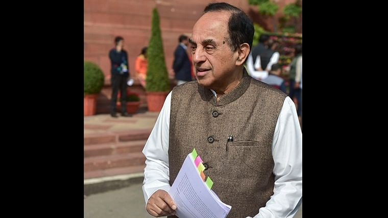Subramanian Swamy claims he never said 'Muslims are not equal to Hindus under Art 14'; Twitter brings up earlier interview