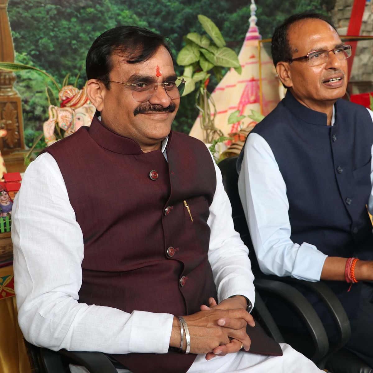 Madhya Pradesh: Newly elected BJP President VD Sharma in action, discusses strategy with Shivraj Singh  Chouhan, Suhas Bhagat