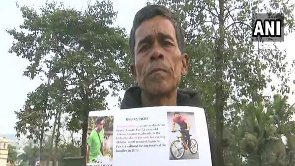 Assam man travels 600 km on cycle to meet Salman Khan!