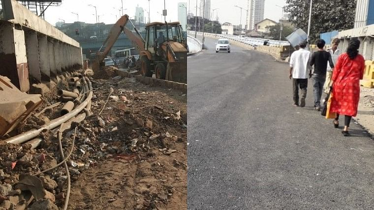 FPJ Impact: Shiv Sena MLA Yamini Jadhav completes road work in Byculla on 'war footing'