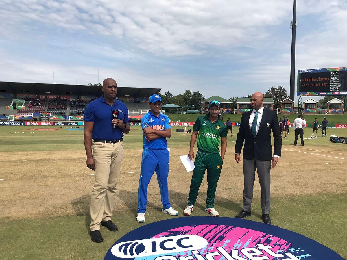 India vs Pakistan U-19 World Cup: Pak wins the toss, opts to bat first