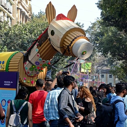 Inside pictures from Mumbai's Kala Ghoda Arts Festival 2020