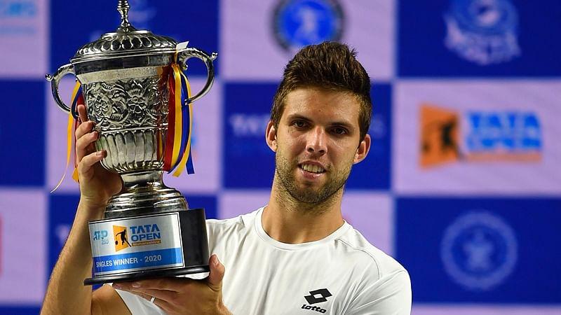 Jiri Vesely crowned champion at Tata Open Maharashtra