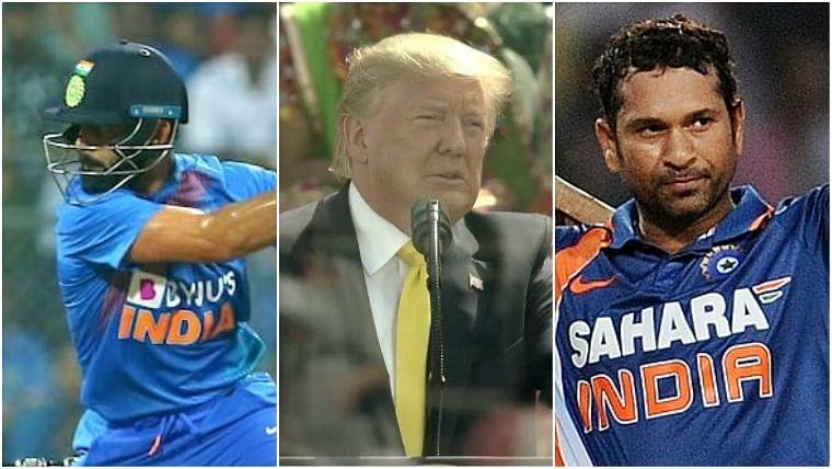 'Some of the greatest players in the world', US President Donald Trump hails Sachin Tendulkar and Virat Kohli