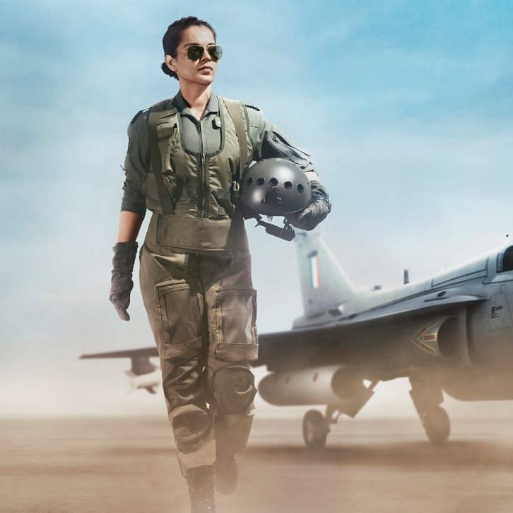 Tejas First Look: Kangana Ranaut looks commanding and stunning as an air force pilot