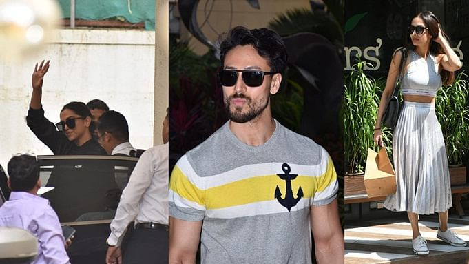 In Pics: Deepika Padukone, Tiger Shroff, Malaika Arora and others snapped in the city