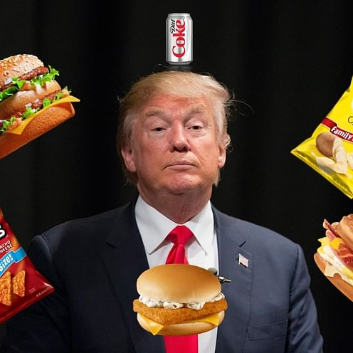 Less than Rs 1500! That's the cost to eat like Donald Trump for a day