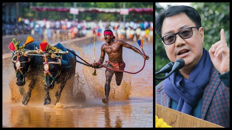 Kiren Rijiju offers trials to Srinivasa Gowda under SAI after sensational Kambala run