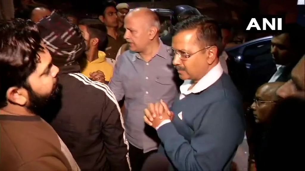 Delhi CM Arvind Kejriwal and Deputy CM Manish Sisodia visit sensitive areas in Northeast Delhi and interact with the local residents to take stock of the situation of the area.