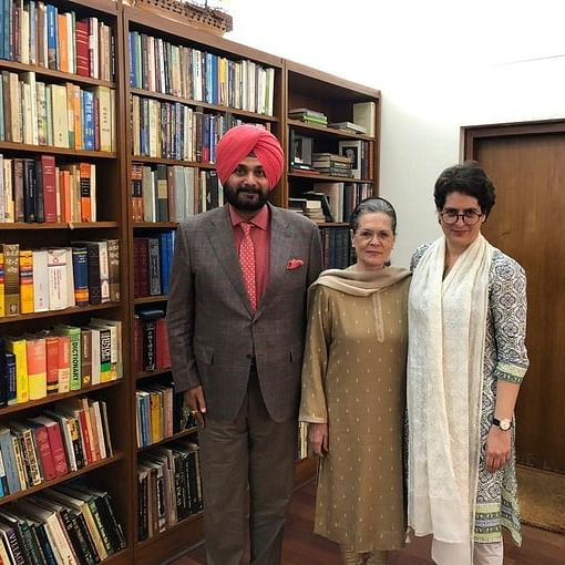Met Sonia Gandhi and Priyanka to discuss party's roadmap in Punjab, says Najvot Singh Sidhu