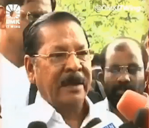 DMK MP compares media houses to 'Mumbai's red light area', apologises