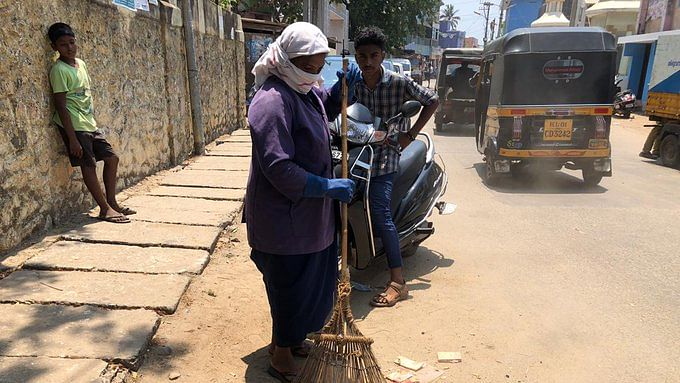 Mumbai: Model chowki in Kurla for conservancy workers equipped with PPE