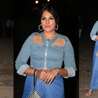 FPJ Fashion Police: Richa Chadha's denim shirt looks like DIY gone wrong!
