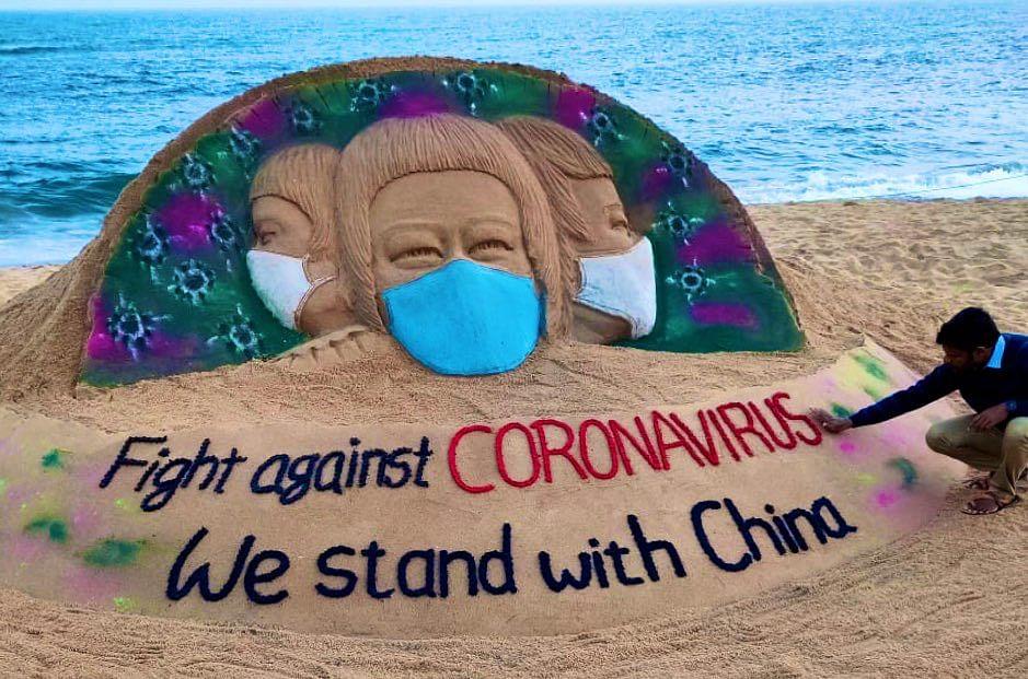 China's Ambassador to India thanks Sudarsan Pattnaik for support in 'Fight against Coronavirus'